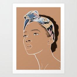 Rachid Art Print