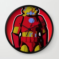 iron trooper Wall Clock
