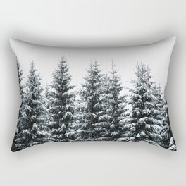 The White Bunch Rectangular Pillow