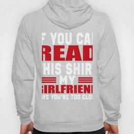 Funny Boyfriend Gift. Costume For Him Hoody