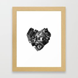 I`m in Love Framed Art Print