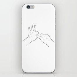 Fucking Gesture iPhone Skin