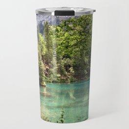 Blausee, Switzerland - Landscape Photography Travel Mug