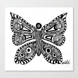 Butterfly Flutterby Canvas Print