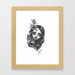 The Lost Doll Framed Art Print