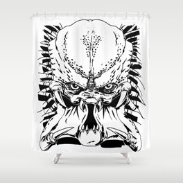 Predator Shower Curtain