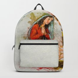 Jesus Is Born Backpack