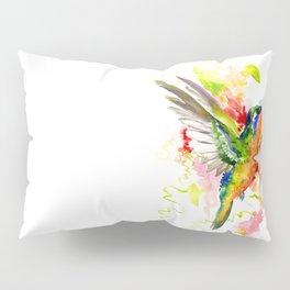 Tropical Hummingbird Pillow Sham