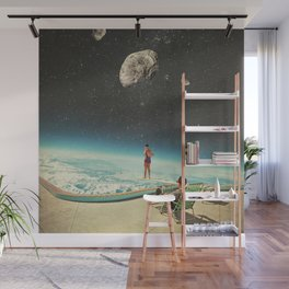 Summer with a Chance of Asteroids Wall Mural