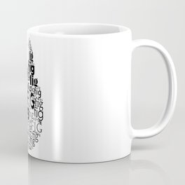Typography fig Coffee Mug