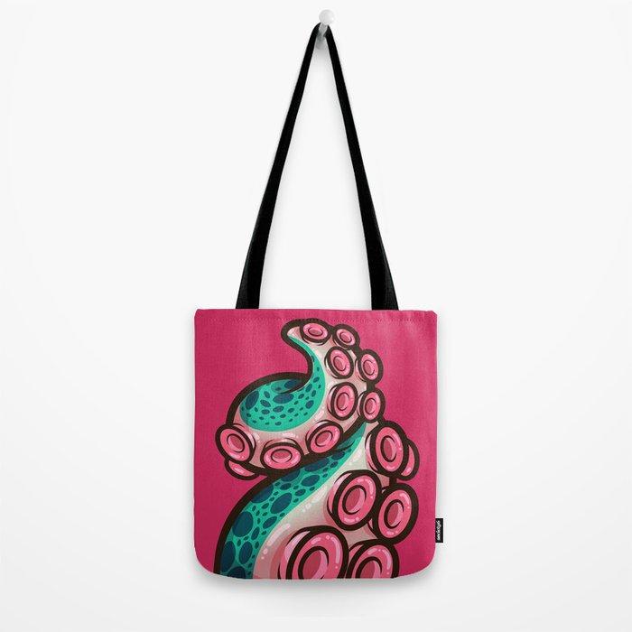 Swirly Great Gumdrop Tentacle Tote Bag