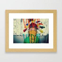 Vive la vida Framed Art Print