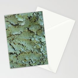 Green moss textures Stationery Cards