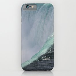 Falling For You | Niagara Falls | Canada Landscape iPhone Case