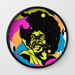 Soul Activism :: Sly Stone Wall Clock