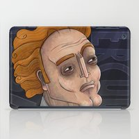 hercules iPad Cases featuring 21st Century's Hercules by Gülce Baycık