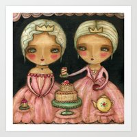 Let Her Eat Cake Art Print