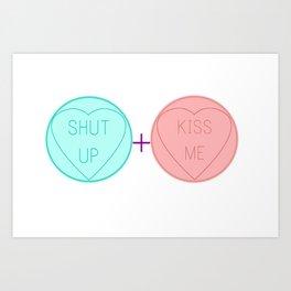 Love Heart Maths Art Print