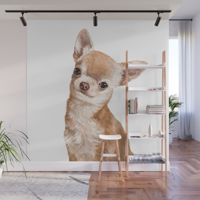 Chihuahua Wall Mural