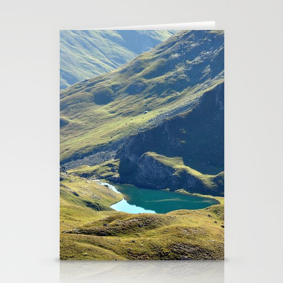 Among The Slopes Stationery Cards