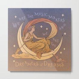 Dreamer of Dreams Metal Print