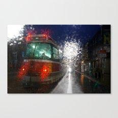 Rain Rider Canvas Print