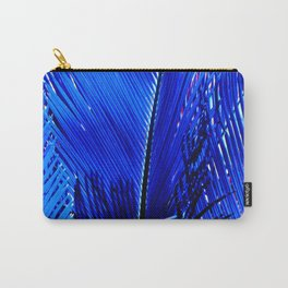 Sapphire Palm Carry-All Pouch