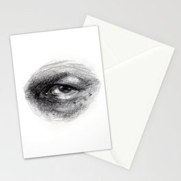Eye Study Sketch 4 Stationery Cards