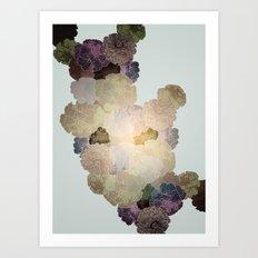 Florals // Pattern I Art Print