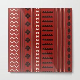 African Styles Pattern 3 Metal Print