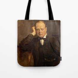 James Guthrie - Sir Winston Churchill, 1874 - 1965 Statesman Tote Bag