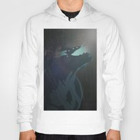 pacific rim Hoodies featuring Kaiju from Pacific Rim by Thecansone