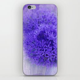 dreaming lilac -7- iPhone Skin