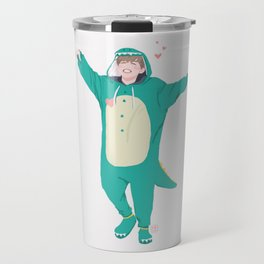 Jimin the Dinosaur Travel Mug