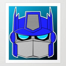 Little Optimus Art Print