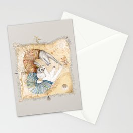 Ferret love Stationery Cards