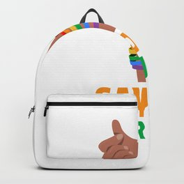 gaydar for people who use gaydars  Backpack