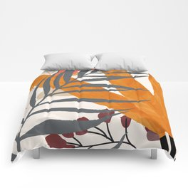 Colorful Red Leaves Comforters