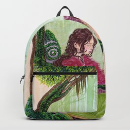 A child in the mist Backpack