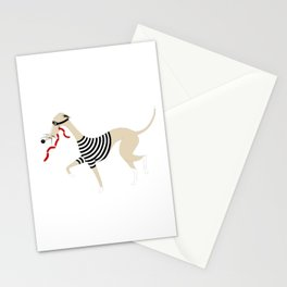 Whippet Thief Stationery Cards