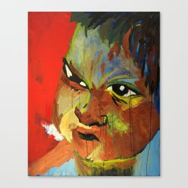 Autistic Boy Canvas Print