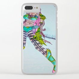Soul swallowing sword Clear iPhone Case