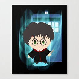the boy who time traveled Canvas Print