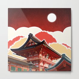Night in Japan II Metal Print
