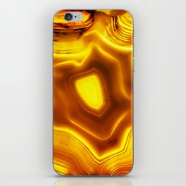 AGATE IN SUNLIGHT iPhone Skin