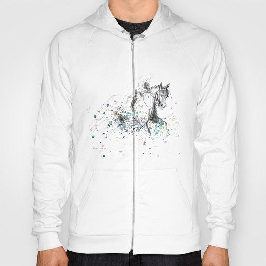 Horse (Rainy canter) Hoody