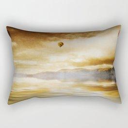 Hot Air Balloon Escape Rectangular Pillow
