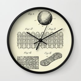 Tennis Ball-1935 Wall Clock