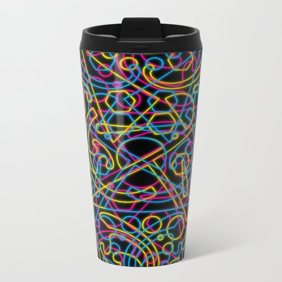 cmyk Metal Travel Mug
