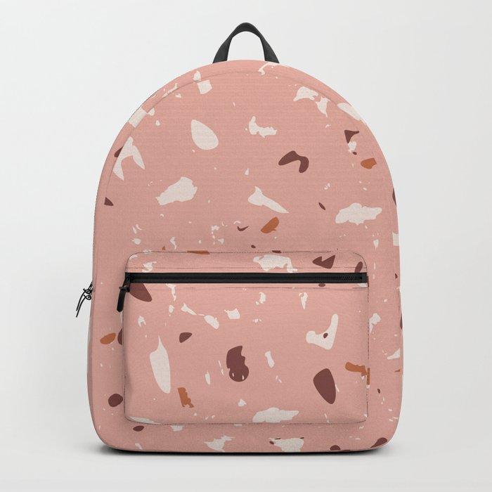 Warm Terrazzo 1 Backpack